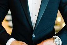For the Groom & Groomsmen / Fashion inspiration and accessory ideas for the groom and his groomsmen.