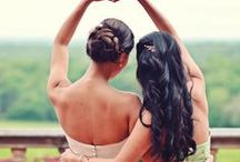 For the Bridesmaids / Ideas and inspiration for celebrating your wedding day with the girls.