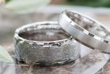 Men's Wedding Bands / An amazing selection of men's wedding bands for every man's style.
