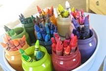 Color My World / Chalk, crayons, DIY paint, & projects / by T. (NAN) MILLER