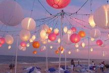 Lanterns/ candles