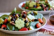 Salad & Dressing Recipes / by Angela Schmidt