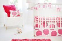 Baby Girl Nurseries / Luxurious baby girl nursery design ideas!