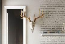 wall design / by Tara Craft-Campbell