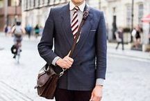 Men's Style: More Formal than Casual / Some people have a natural sense of style.  I, on the other hand, need some help.