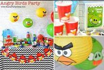 5th Birthday Ideas - Angry Birds