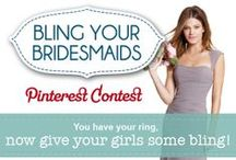 Bling Your Bridesmaids Sweepstakes / Our Bling Your Bridesmaids contest!  / by Shane Co.