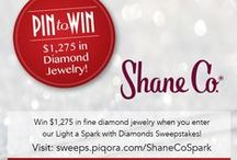Light a Spark with Diamonds Sweepstakes / Officially enter Shane Co.'s Light a Spark with Diamonds Sweepstakes via this link: http://sweeps.piqora.com/ShaneCoSpark.  / by Shane Co.