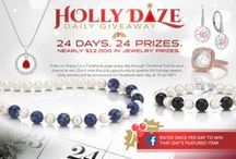 Holly Daze 2014 - Daily Facebook Giveaway / Contest was available on Facebook, December 1 – December 24, 2014. Congratulations to all our winners! Follow @shanecompany on Pinterest for future contest announcements!  / by Shane Co.
