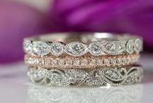 Women's Wedding Bands / Wedding bands to match every engagement ring style.