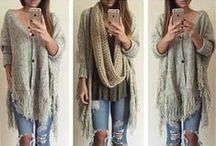 Fall fashion! / Beat the chilly autumn air by trying on these hot styles today!