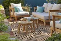 Terrasses & Balcons / Au retour des beaux jours, on prend plaisir à (re)sortir transat, mobilier de jardin et barbecue... Avec Castorama, vous trouverez toutes les idées pour profiter de votre terrasse ou de votre balcon comme d'une pièce supplémentaire de la maison.