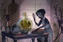 lovely illustrations, patterns, etc.  / by Rachel Kertz