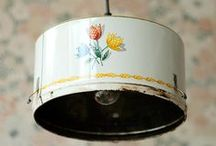 light fixtures / by jeanne @ bees knees bungalow