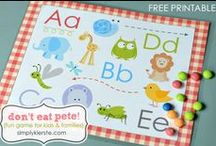 Kids Activities / Toddler activities and games, printables for toddlers, toddler advice