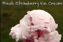 {Sweets} Frozen & Chilled / frozen and chilled desserts, like ice cream, frozen yogurts, frozen pops, and refrigerator (no-bake) cakes, pies, and pudding/mousse  / by Mary Eichman