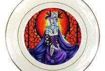 %__Porcelain Plates__%