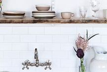 Ideas of a Pretty Kitchen / Inspiration to improve the look of your kitchen!
