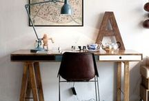 Ideas for a Pretty Home Office / Inspiration to create the perfect office space in your home