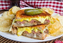 {Sandwiches} / Recipes for all kinds of sandwiches, subs, paninis, burgers, etc. Sorting is a work in progress, so in the meantime see also, {Recipes}, {Breakfast}, and different protein boards for inspiration / by Mary Eichman