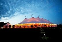 Sperry tents / An icon of the Hamptons wedding and party scene, our new Sperry tents are hot news on the other side of the pond. Lovingly hand-crafted in Massachusetts, the oyster sailcloth and iconic canopy of the Sperry tent ooze a timeless, graceful elegance. www.papakata.co.uk