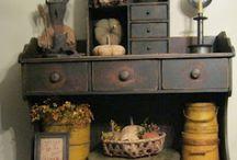 Primitive / Primitive decor, crafts, and ideas / by Rockin Mom