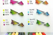 Copic: color combos