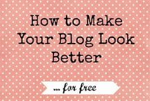 Blogging Tips & Resources / Free Blog Elements, Tips on monetizing and gaining blog traffic and more...