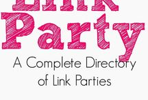 Link Party! / Collection of blog link parties, and giveaway directory sorted by date, time and category. Check out the directory here: http://linkyhere.blogspot.ca/p/start-here.html or e-mail me to add your own link party