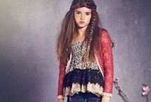 Girls Boho Clothing / The Bohemian clothing trend from adult fashion has exploded in girls boutique designs as well. Girls love these mini me fashions!