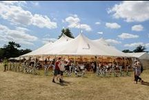Wilderness Festival 2015 / Wilderness Festival 2015 with our beautiful Sperry tent what hosted the Raymond Blanc Long Table Banquet.