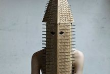Non-paper art / Art that inspires my art practice, that's not made of paper or books.