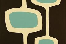 Mid century modern art / Great wall decor for the mid-century modern home.