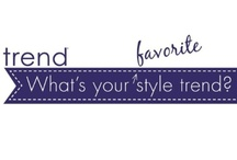 What's Your Style Trend? / Style Trend Blogs and images incorporating these trends.