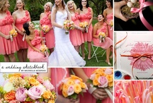 Pink-orange Wedding