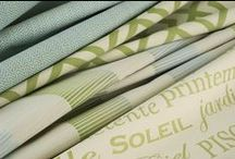 Indoor/Outdoor Fabrics / Fabrics inspired to last years without losing their unique properties.