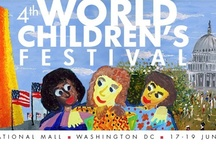 The World Children's Festivals / The ICAF is a world leader in designing, planning and staging for educational festivals for children. In September 1998, the ICAF organized the first- ever national children's art festival in the United States, which was held on the National Mall in Washington, DC. In June 2006, the ICAF organized the first-ever European Children's Festival, which was held at the Olympia Park in Munich.