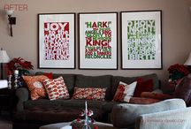 Holiday Decorating / Holiday decor ideas shamelessly stolen from people more imaginative than I am. / by Tamara VH