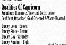 Capricorn / by Nichole Leonard