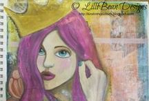 LilliBean Designs [LIfebook courses] / My art work from Tam Laportes Lifebook Courses (from 2012 - 2014)