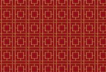Color Trend: Poppy Red / A collection of Poppy Red fabrics and trimmings from our family of brands.