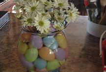 Easter decorations and crafts / by Heather Smith