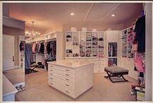 closets / Beyond a girls best dream / by Courteneay Decker