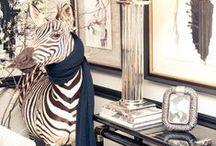 s t y l e: zebra style / by z f l i c k a's  Style Blog