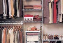 Closet redo ideas / by Heather Smith
