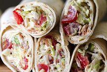 Sandwich/Wraps / by Heather Smith