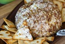 Cheese balls/dips / by Heather Smith