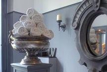 s t y l e: powder room / Bathroom home / by z f l i c k a's  Style Blog