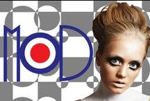 """MOD - Friday Night / MOD 60's. In the sixties Modernism (MoD) raged not only on the catwalks and glossy fashion magazines, but also on the streets of big cities by imagining a future that  makes us smile today and, quoting Sir Arthur C. Clarke, said that: """"The future is no longer what it once was """""""