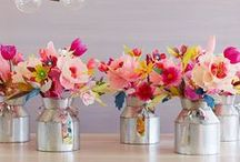 Floral. / Bouquets, centre pieces & all things blooming.